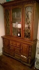 Vintage Sideboard/Cabinet (Two-part)