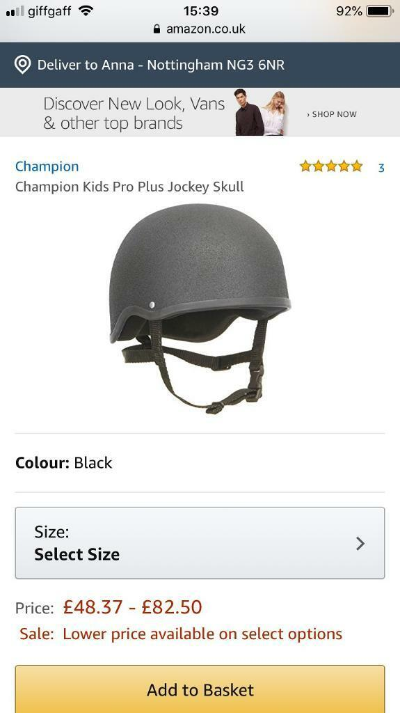 Champion Kids Pro Plus Jockey Skull