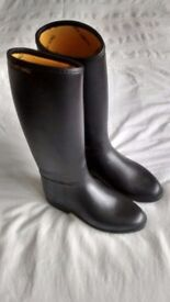 HARRY HALL LADIES RIDING BOOTS (SIZE 4)