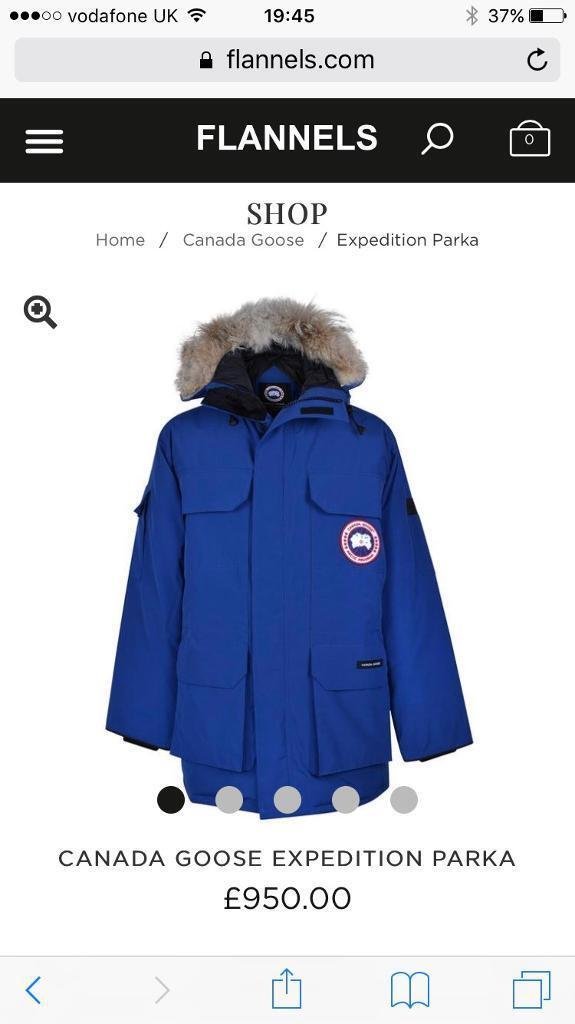 Men's Canada goose