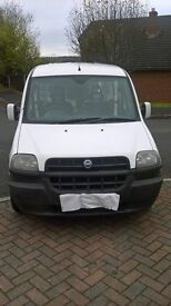 RELIABLE AND CHEAP TO RUN FIAT DOBLO VAN 2002 1.9 DIESEL