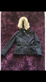 Hollister coat size medium