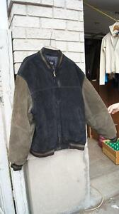 Men's Suede Jacket (XXL)
