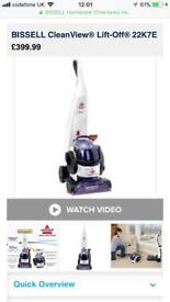 Bissell cleanview lift-off 22k7e carpet cleaner washer