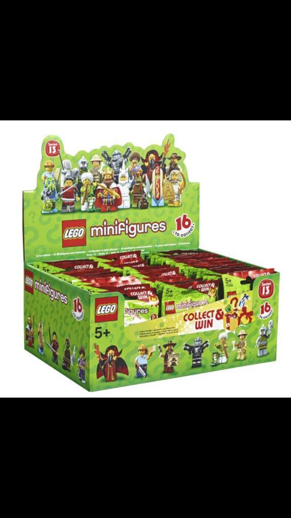 Factory sealed Lego Series 13 Minifigures - box of 60.