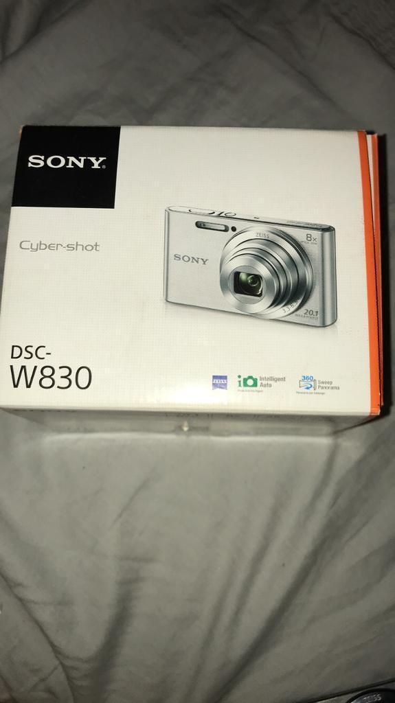 Cyber-shot Dsc-W830 Sony camera