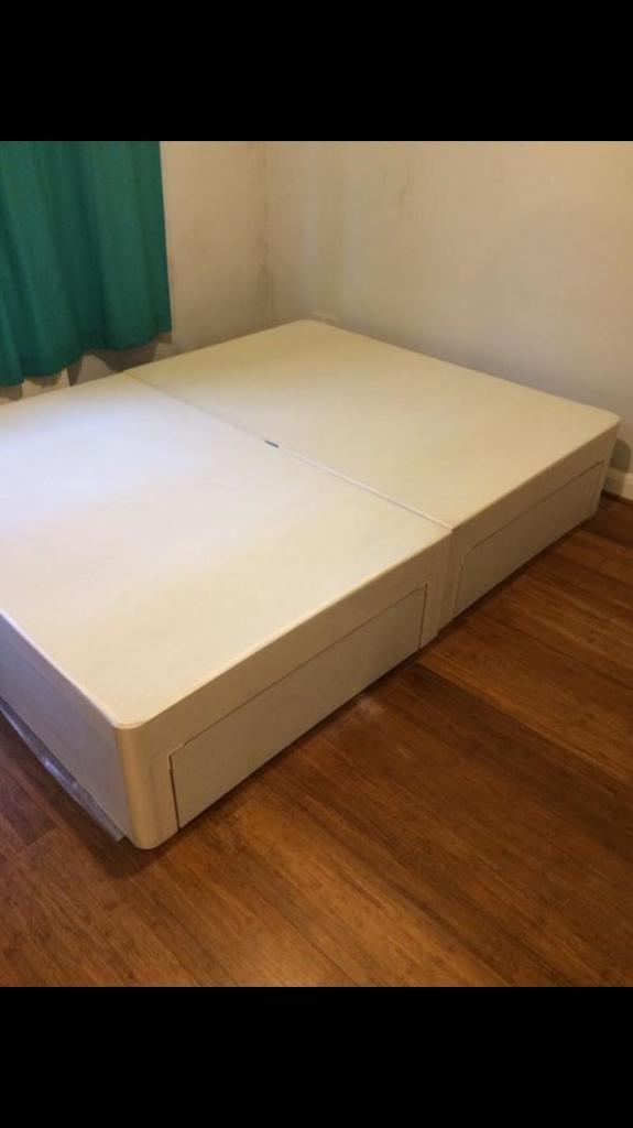 King size bed base