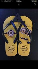 Havaianas Unisex 'Minions' Flip Flops (S6/7)