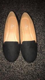 Black Bebo dolly shoes