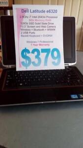Dell Latitude e6320 i7 Intel - 6Gb - 128Gb SSD - Fully Loaded - 1 Year Warranty