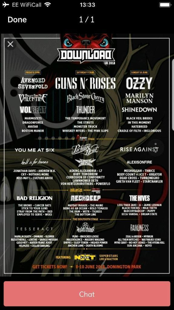 Download festival 5 day camping ticket | village.