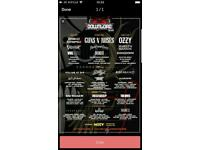 DOWNLOAD FESTIVAL 5 DAY CAMPING TICKETS