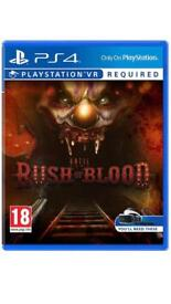 PS4 VR Game Rush of Blood