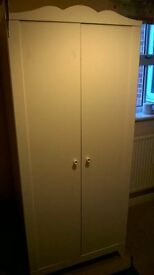 IKEA Hensvik wardrobe in white