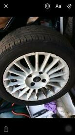 Ford mk6 wheels + tyres