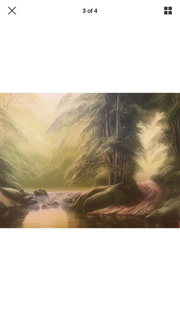 Original David James Oil Painting