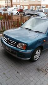 Nissan micra for sale Y Reg