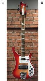 Rickenbacker 4003 Fireglo 2017 Bass Guitar