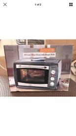 Convection Mini Oven With Single Hob