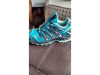Salomon womens gore-tex trail running trainers