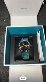 Blue / green / turquoise KENZO unisex watch
