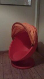 Childs swivel IKEA chair