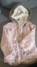 Winter jacket for girl George 110-116 cm
