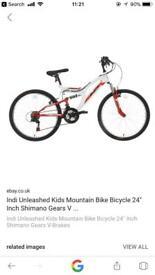 "Kids 24"" bike ""Indi Unleashed"""