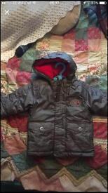 Boys coats 3-6 months