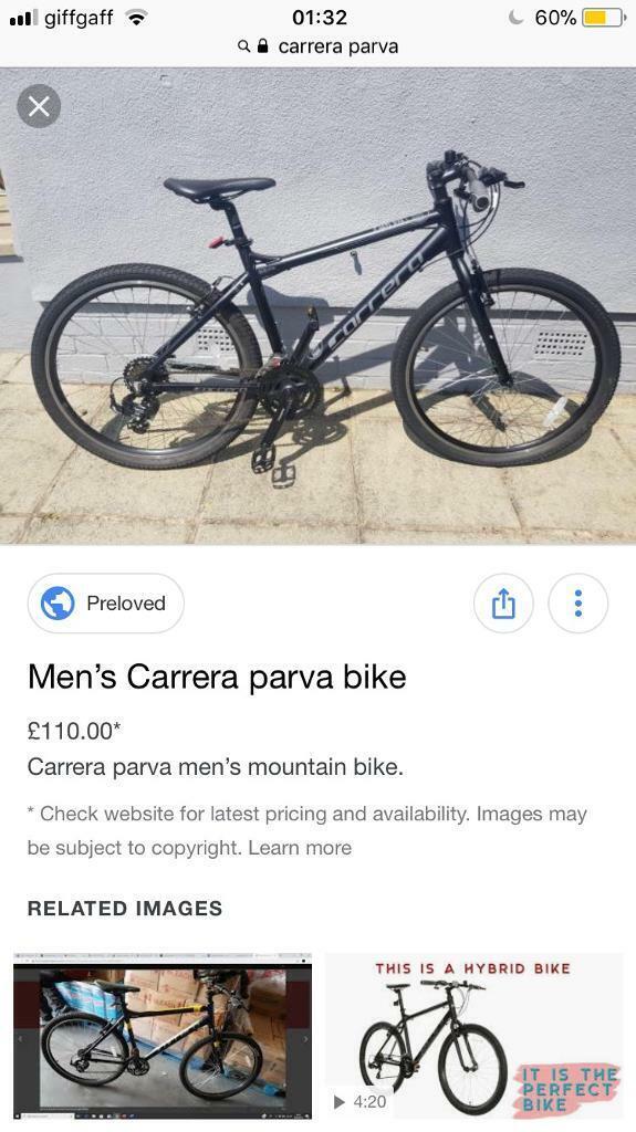 Men's careers parva bike not trek boardman giant carbon gt | in Wimbledon,  London | Gumtree