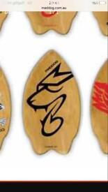 Summer time Wooden skim board USA