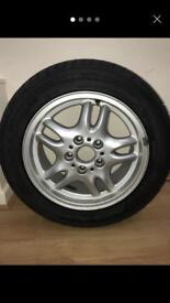 """16"""" BMW 318is M Sport Alloy and Tyre"""