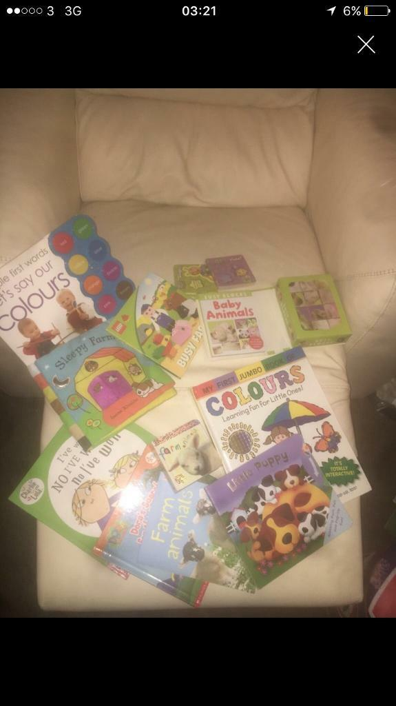 Baby/ Toddler Bundle of Books