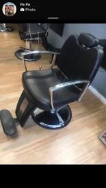 Hydraulic beauty / hairdressers chair
