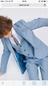 Boys blue suit age 12 immaculate worn for 2 hours