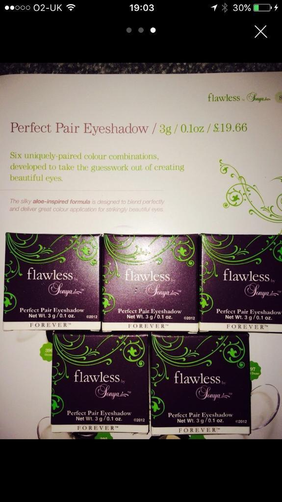 Forever living flawless By Sonya eyeshadow and eyeliner | in Pudsey ...