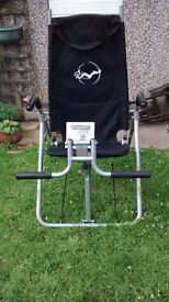 Ab relaxer chair - stomach muscles exerciser