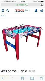 Free 4ft football table