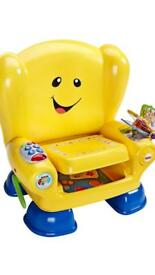 Fisher price laugh & learn chair