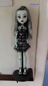 "monster high doll 17"" frankie stein"
