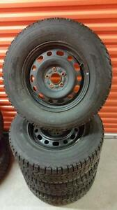(190) Pneus Hiver - Winter Tires 235-70-16 Firestone 2x 5/32 - 2x 7/32