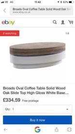 Coffee table BNIB