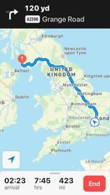 U.K. mainland to Ireland Removals, moving home, relocation