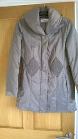 John Lewis ladies size 10 coat. Wrong size bought as Christmas present. It was £99