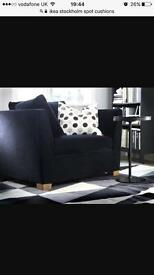 Ikea Stockholm X 3 Spot Cushion and inners