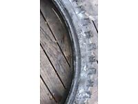 Michelin AC10 tyres part worn - ideal for road, trail/green lane use