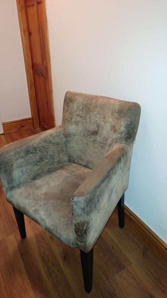 Buffalo leather chair/ sofa.