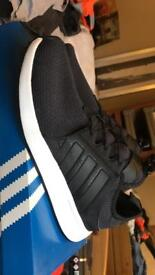 Adidas FLB Runners in Black and White size 8