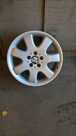 """Set of 4 alloy wheels, 17"""" Mercedes"""