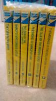 Nancy Drew hardcover books 7-12